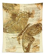 Butterfly Antiquities Tapestry