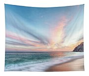 Cabo San Lucas Beach Sunset Mexico Tapestry