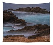 California Coastal Water Motion Tapestry