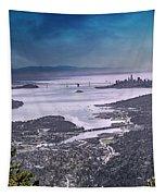 Goodnight California Tapestry