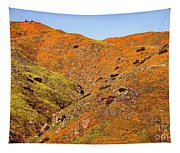 California Poppy Hills Tapestry