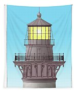 Cape Hatteras Lamp House Tapestry