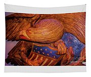 Carved Wood - Eagle Tapestry