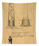 Cast Iron Lighthouses Tapestry