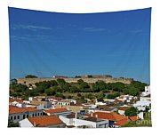 Castro Marim Village And Medieval Castle Tapestry