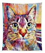 Cat 13 Tapestry