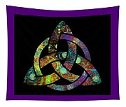 Celtic Triquetra Or Trinity Knot Symbol 3 Tapestry