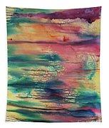 Central Park Sunset Tapestry