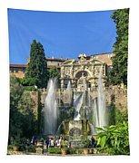 Fountain Of Neptune Tapestry