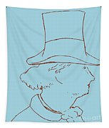 Charles Baudelaire By Edouard Manet Tapestry