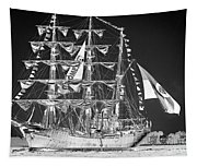Charleston Ghost Ship Tapestry
