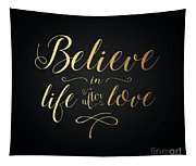Cher - Believe Gold Foil Tapestry