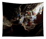 Chhungsi Cave From The Inside, Mustang Tapestry