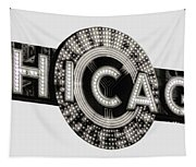 Chicago Theater Marquee - T-shirt Tapestry