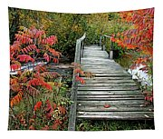 Chikanishing River Bridge Tapestry