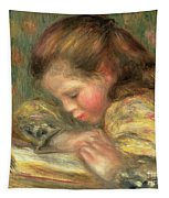 Child Reading, 1890  Tapestry