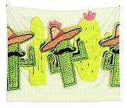 Chili Con Cacti Tapestry