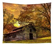 Chill Of An Early Fall Tapestry