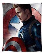 Chris Evans Captain America  Avengers Tapestry