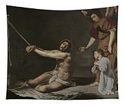 Christ After The Flagellation Contemplated By The Christian Soul Tapestry
