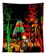 Christmas Red And Green Tapestry