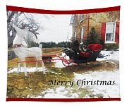 Christmas Sleigh Tapestry