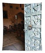 Church Door Tremouille Auvergne Francd Tapestry