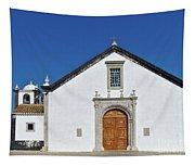 Church Of Cacela Velha In Portugal Tapestry