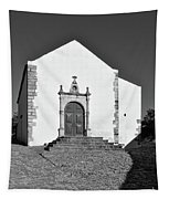 Church Of Misericordia In Monochrome Tapestry