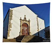 Church Of Misericordia. Portugal Tapestry
