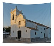 Church Of Querenca In Loule. Portugal Tapestry