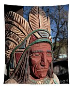 Cigar Store Indian  Tapestry