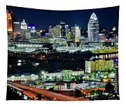 Cinci The Queen City Tapestry