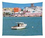 City Of Hamilton Bermuda Tapestry