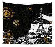 City Of Lights - Kaleidoscope Moon For Children Gone Too Soon Number 6  Tapestry
