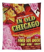 Classic Movie Poster - In Old Chicago Tapestry
