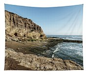 Cliff In The Ocean Tapestry