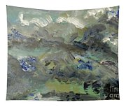 Clouds Before Rain In Summer Tapestry
