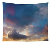 Clouds Spotted With Color Tapestry