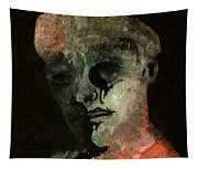 Clown On Black Tapestry