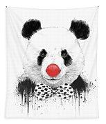 Clown Panda Tapestry