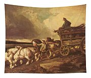 Coal Cars 1822 Tapestry