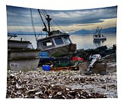 Coastal Fishing Vancouver Island Tapestry