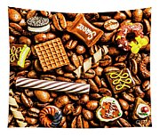 Coffee Candy Tapestry