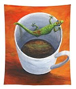 Coffee With A Friend Tapestry by Darice Machel McGuire