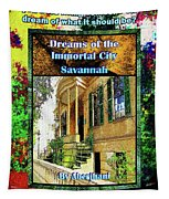 Collectible Dreaming Savannah Book Poster Tapestry