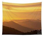Collegiate Peaks Sunset Tapestry
