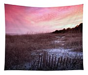 Color Over The Dunes Tapestry