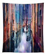 Colorful Canal Tapestry