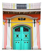 Colorful Door Tapestry
